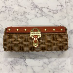 Michael Kors Wicker Clutch